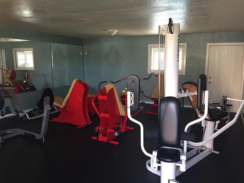Fitness Center | Premier Apartments Lancaster, CA