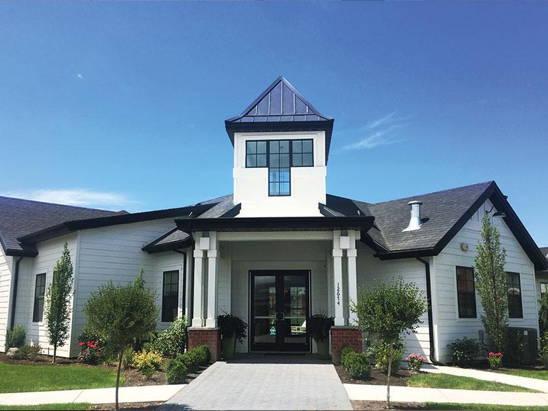 Club House Exterior | Meadows at Park Avenue