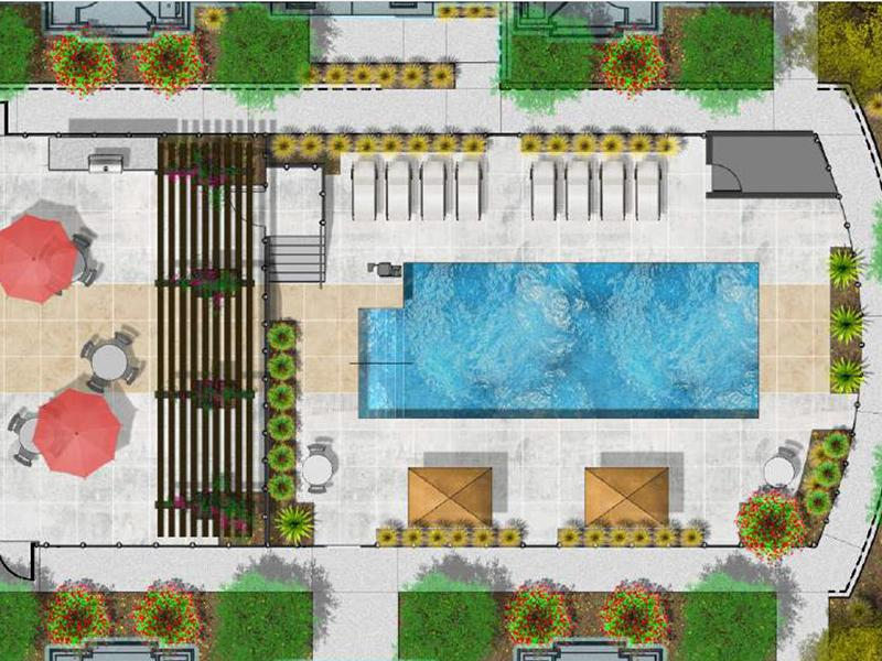 Swimming Pool | Vela Apartments