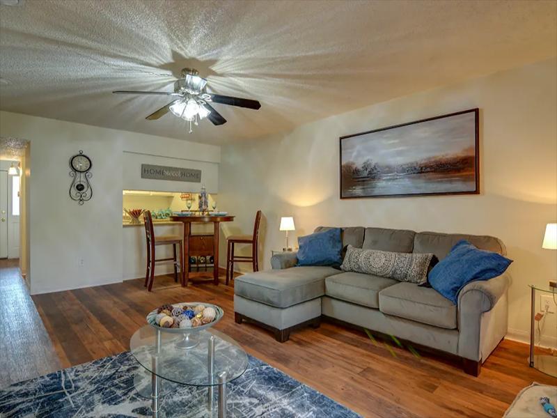 Front Room | Indigo Park Apartments