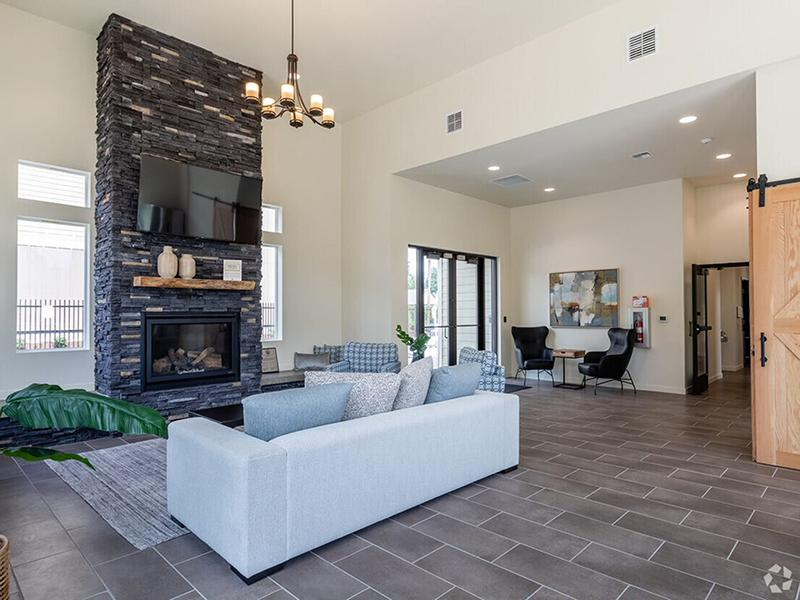 Clubhouse Lobby | Haven Hills Apartments in Vancouver, WA