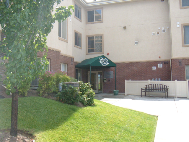 Bristol Village apartments main entrance