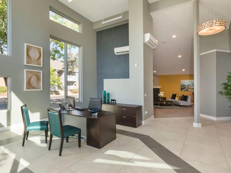 Clubhouse Interior | The Preserve at City Center in Aurora, CO