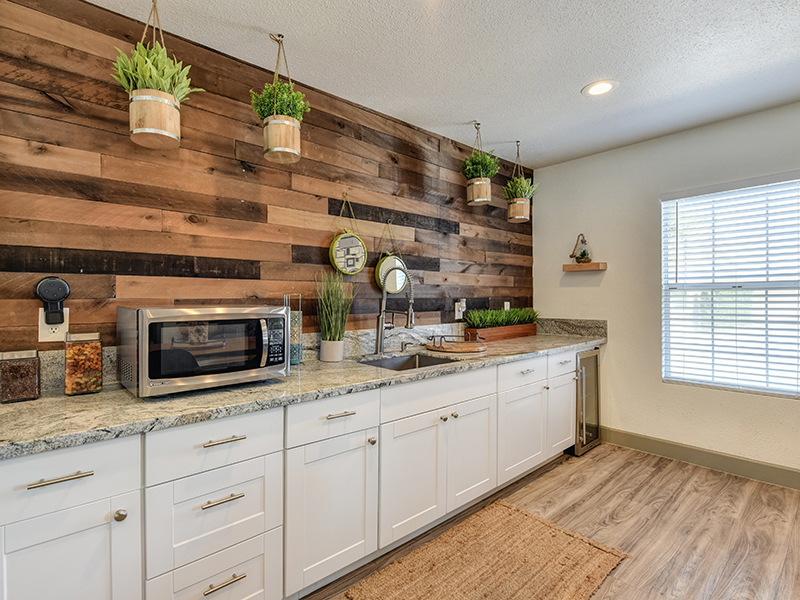 Clubhouse Kitchen | Sierra Park Townhomes