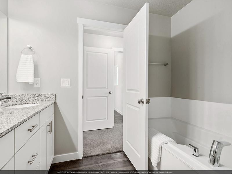 Deep Soaking Tub w/ Standalone Shower
