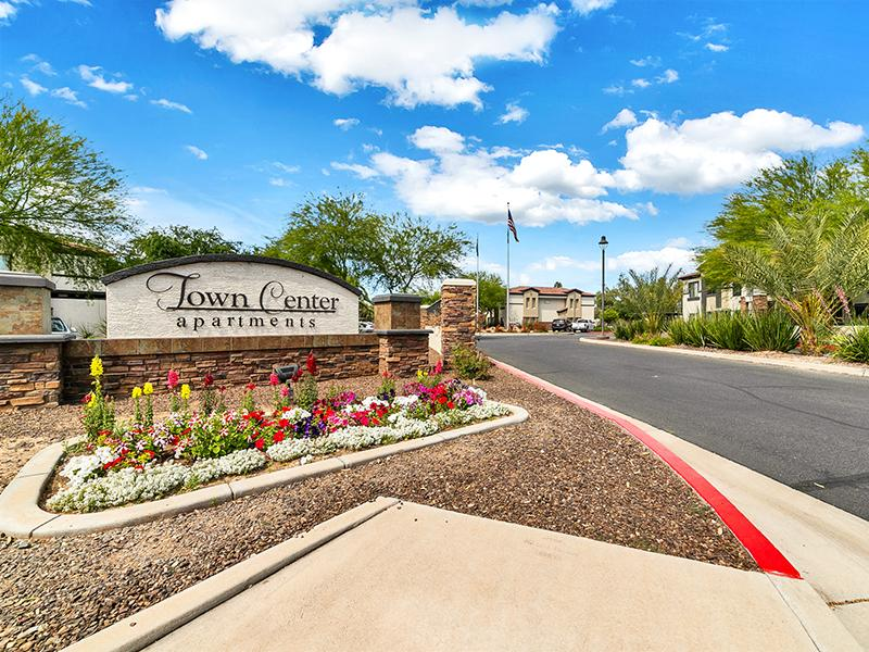 Sign | Town Center Apartments