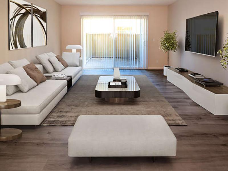 Model Living Room | Juniper Apartments