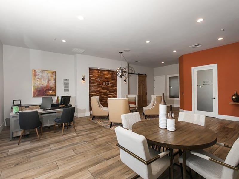 Clubhouse Interior | Avion Apartments