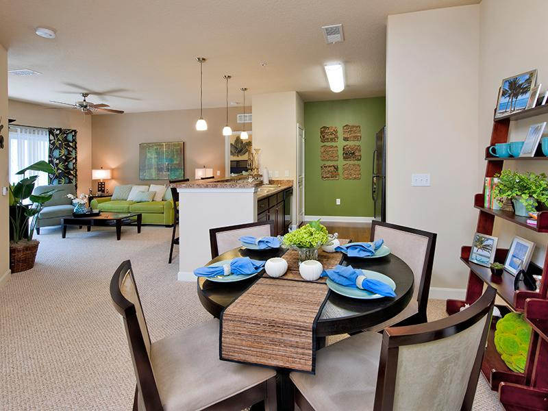 Open Dining and Living Room | Hayden Commons Tallahassee