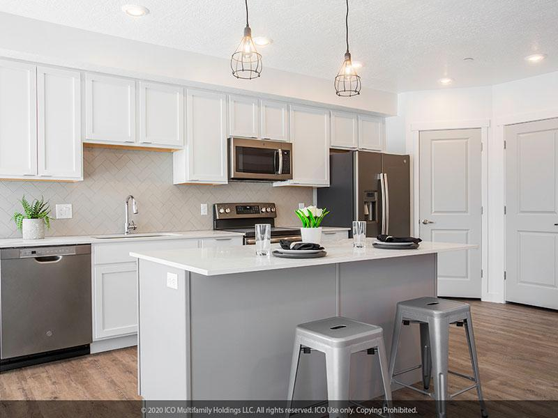 The Exton at University Place | Beautiful Kitchen Area