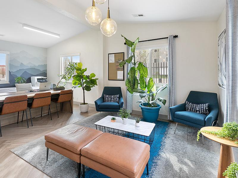 Leasing Office Interior | Aspire West Valley Apartments