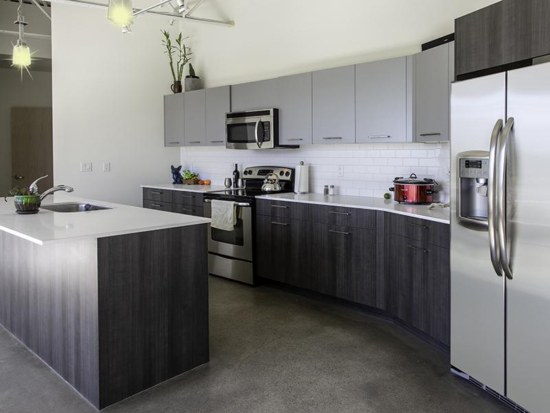 Kitchen | 21 and View Salt Lake Apartments
