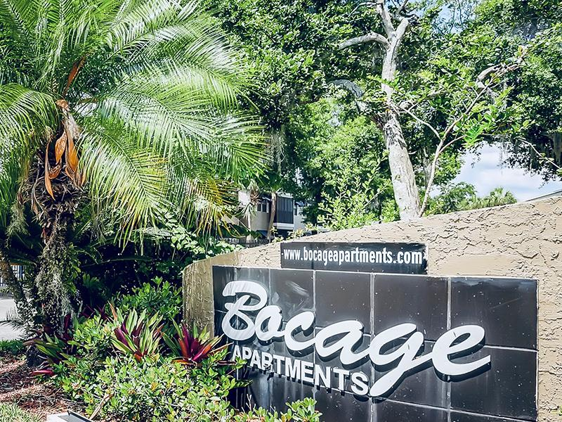 Welcome Sign | Bocage Apartments in Orlando, FL