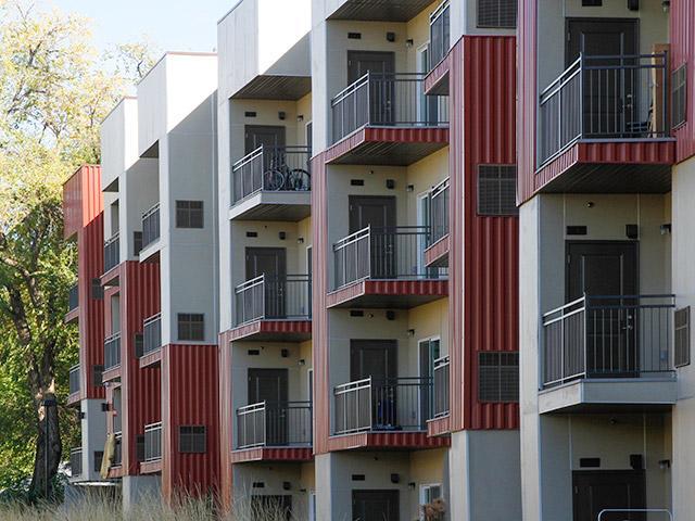 Balcony | 644 City Station Apartments