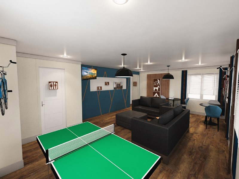 Ping Pong Table | Edge at Fitzsimmons