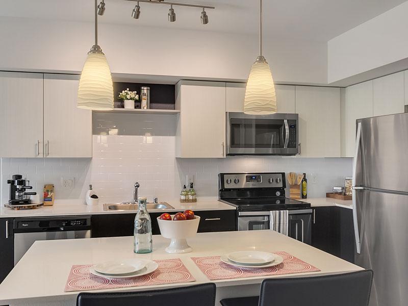 Tria apartments Kitchen