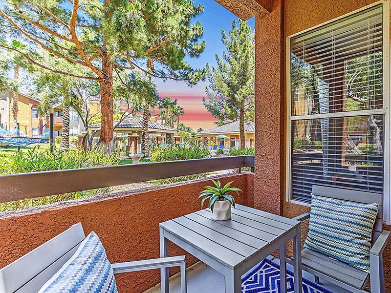 Balcony | Palms at Peccole Ranch