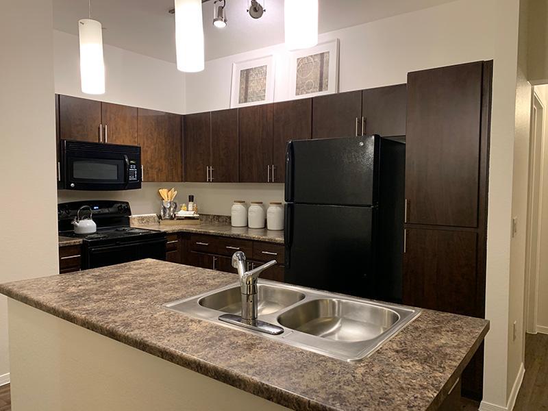 Kitchen | Elevation Luxury Apartments