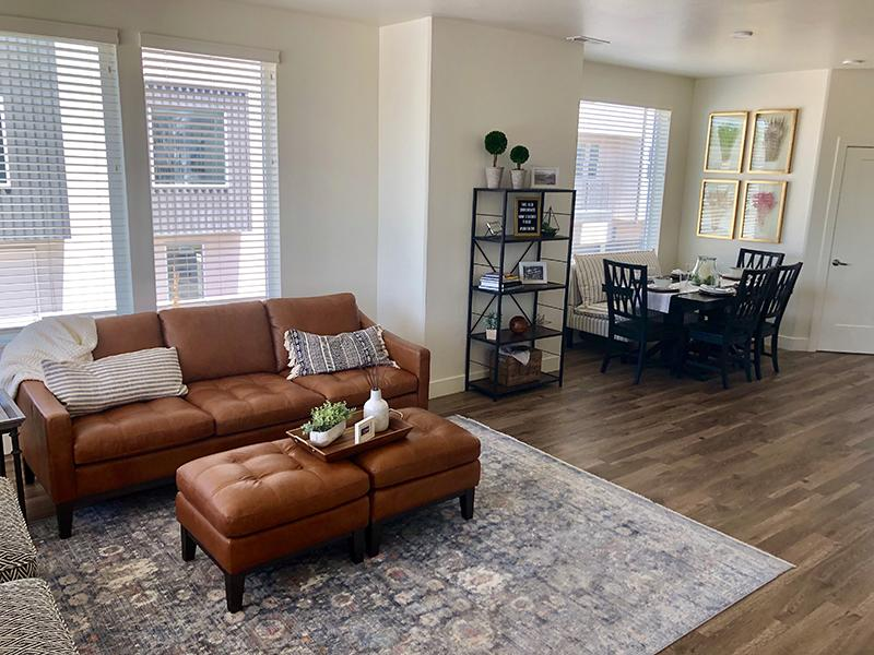 Front Room | Aero Townhomes