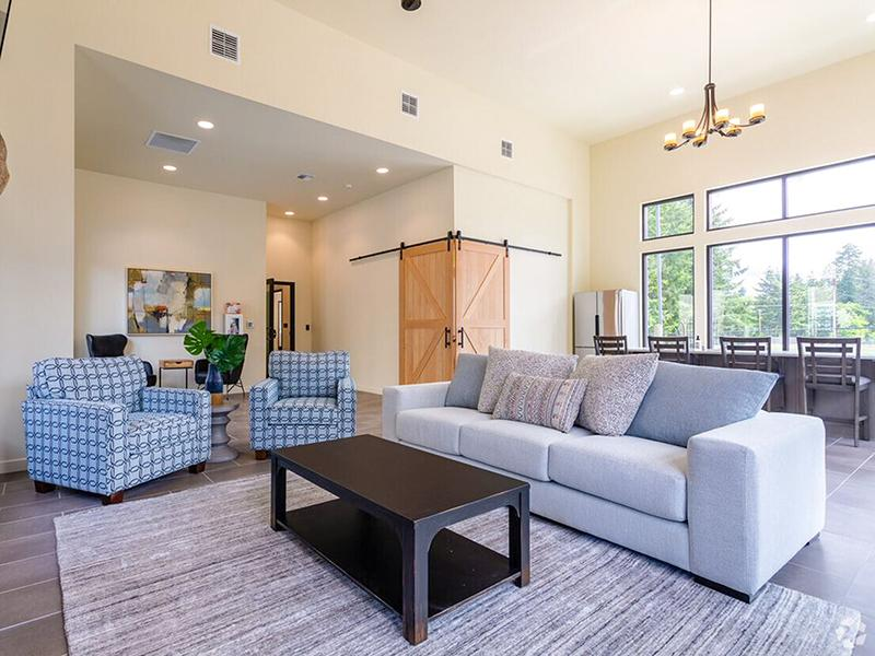 Clubhouse Seating | Haven Hills Apartments in Vancouver, WA