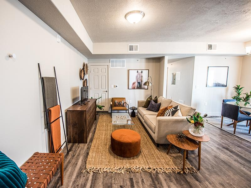 Front Room | Springs at Copper Canyon Apartments | Tooele, UT