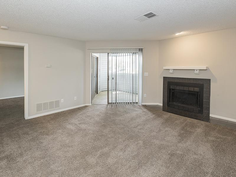 Living Room  | Cheyenne Crest Apartments in Colorado Springs, CO
