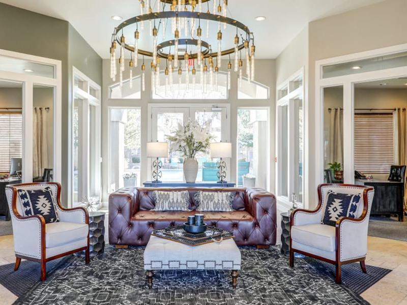 Clubhouse Interior | Broadstone Heights Albuquerque Apartments