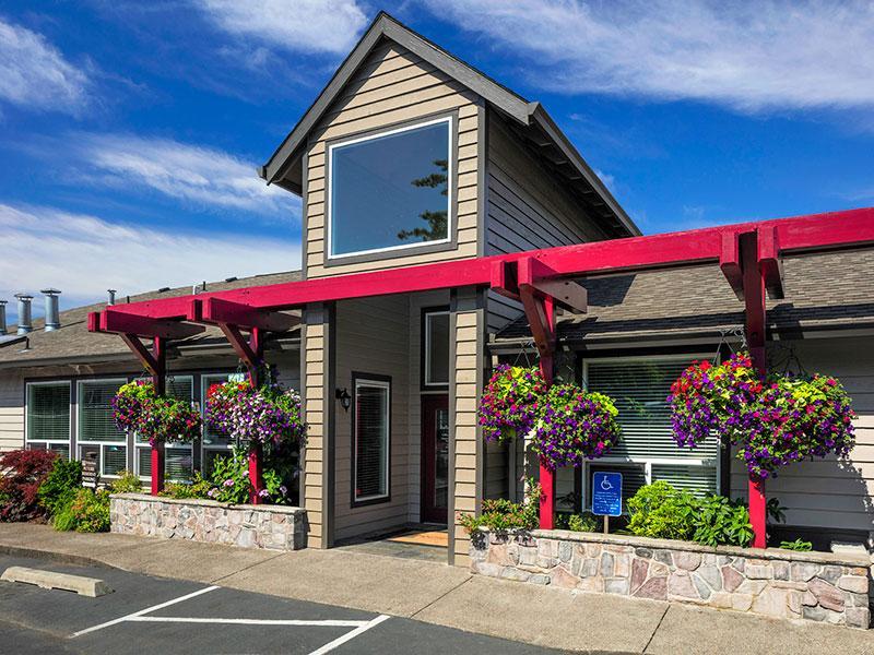Reflections at Happy Valley Apartments: Main Entrance exterior