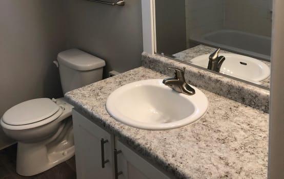 Bathroom | Eagle Crest Apartments