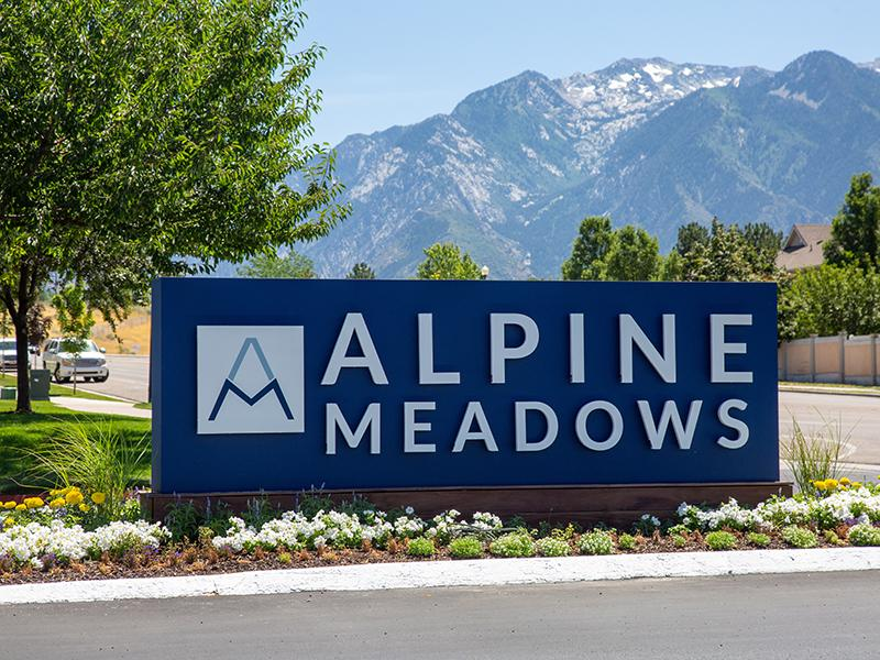 Sign   Alpine Meadows