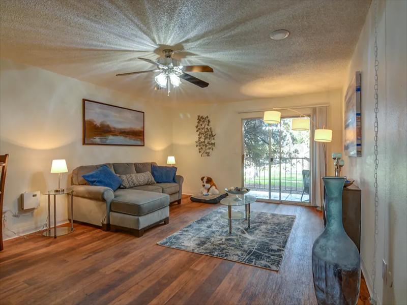 Living Room | Indigo Park Apartments