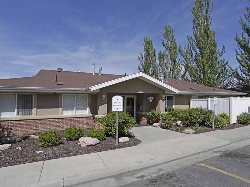 Club House Exterior | Bridger Pointe