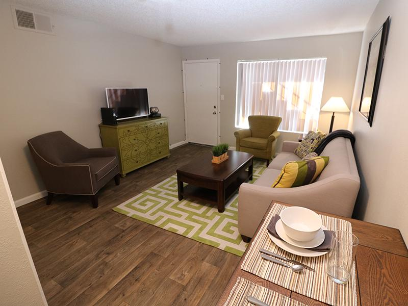 Living Room | Dakota Canyon 87505 Apartments