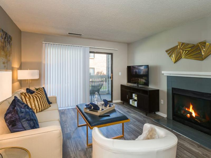 Living Room | The Preserve at City Center Apartments