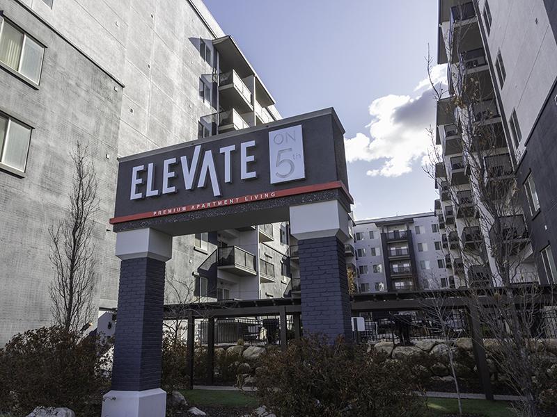 Apartment Exterior | Elevate on 5th in Salt Lake City, UT