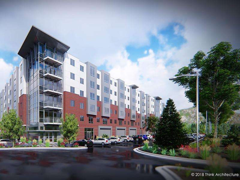 Exterior | Rendering | Canyon Vista Apartments in Draper, UT