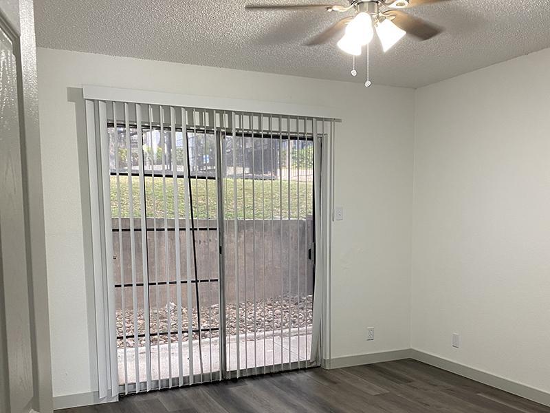 Patio Doors | SkyVue Apartments in San Antonio, TX