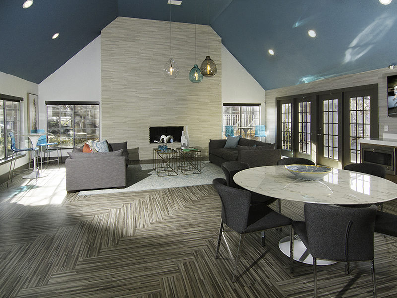 Clubhouse Interior - Windgate Apartments
