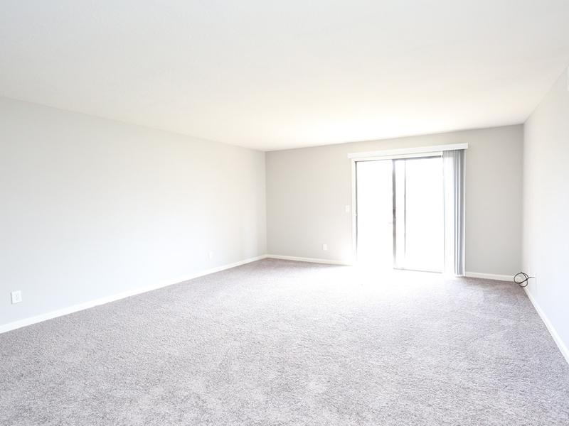 Living Room | Carrington Place Apartments