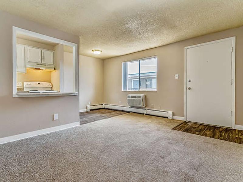 Front Room | Bridge Square Apartments