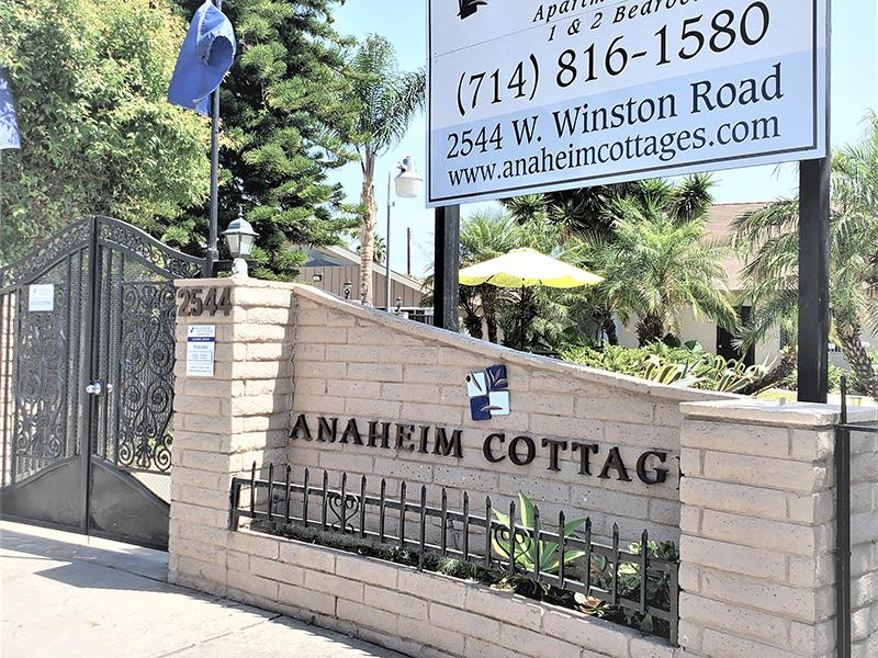 Property Entrance | Anaheim Cottages in Anaheim CA