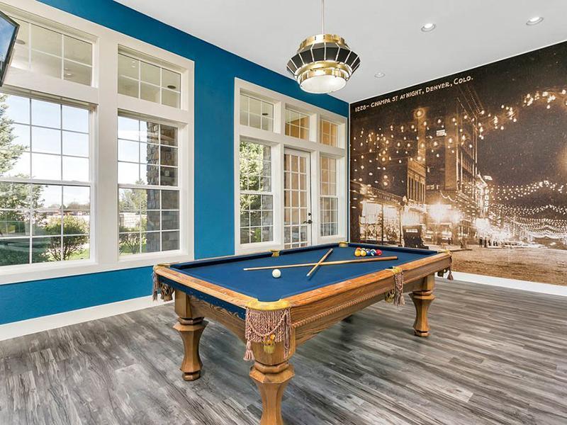 Game Room | Crestone Apartments in Aurora, CO