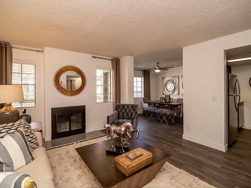 Apartment Living Room | Entrada Tucson Apartments