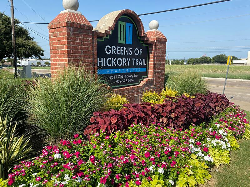 Sign | Greens of Hickory Trails