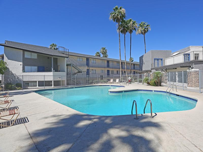 Pool | The District Fiesta Park Apartments in Mesa, AZ