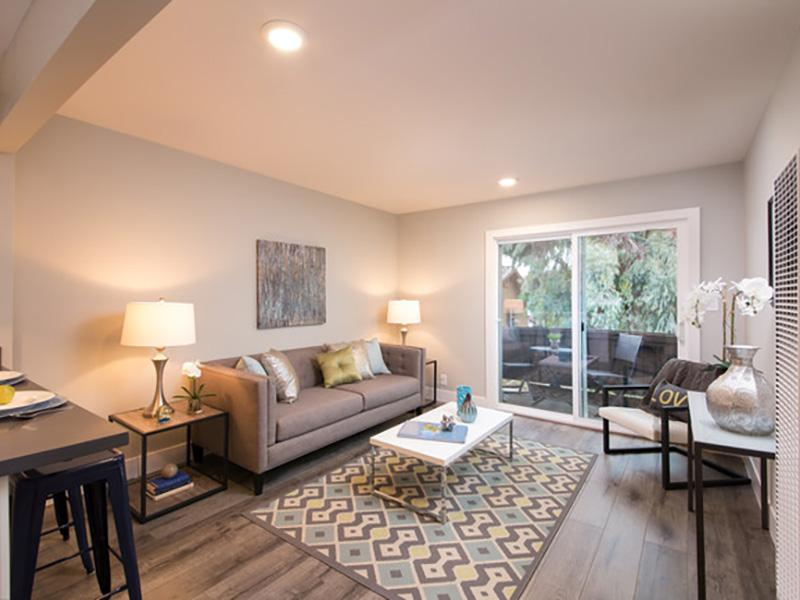 Living Room | Solis Garden Apartments