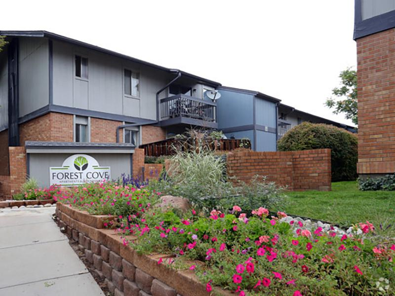 Exterior | Forest Cove Apartments in Denver CO