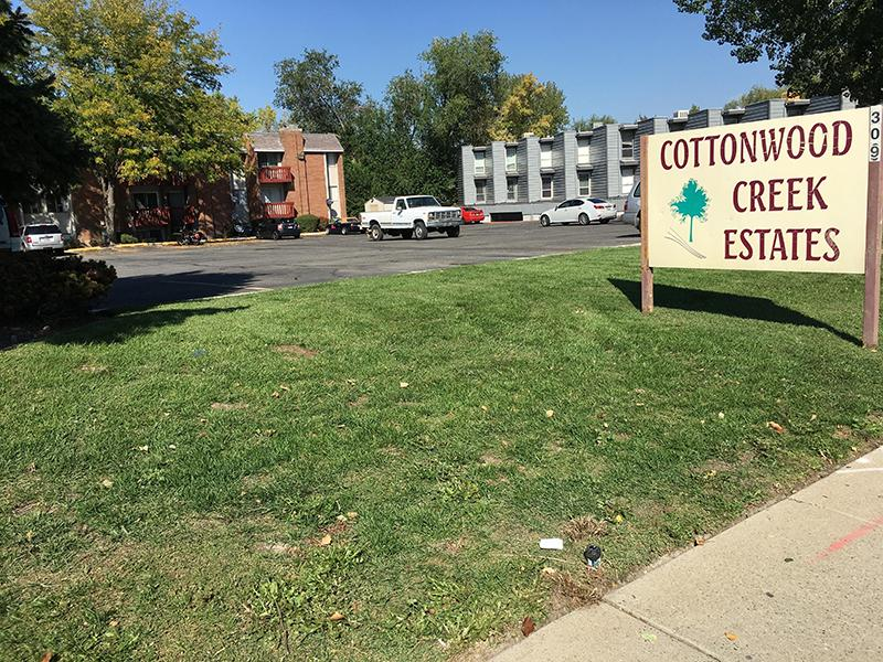 Welcome Sign   Cottonwood Creek Estates in Murray, UT