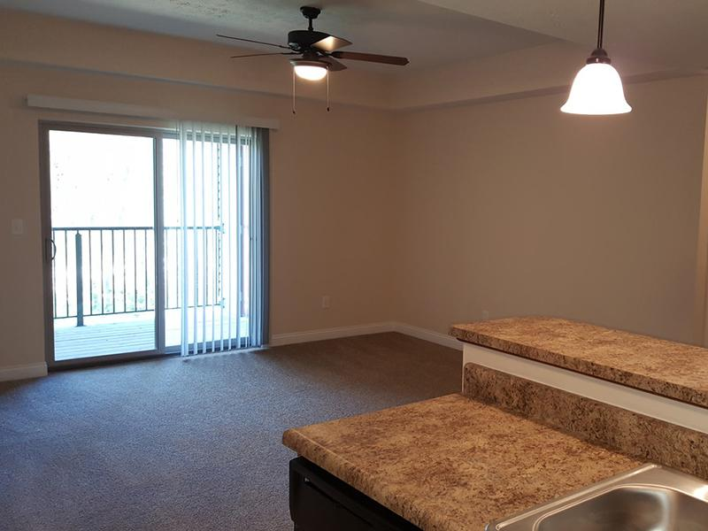 Living Room | Academy Park Apartments
