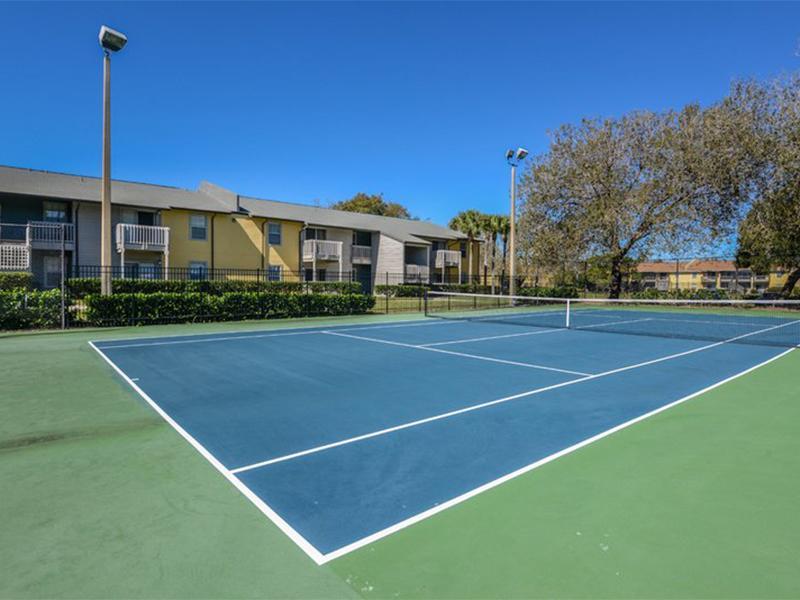 Tennis Courts | Vieras at Bayside